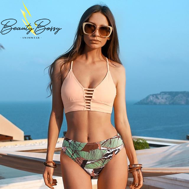 BeautyBossy 2020 Leafy Swimsuit