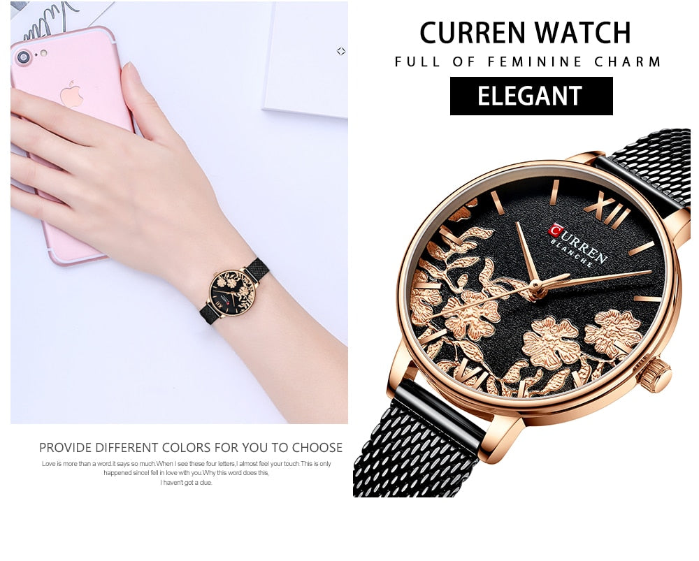 BeautyBossy 2020 Curren Luxury Watches