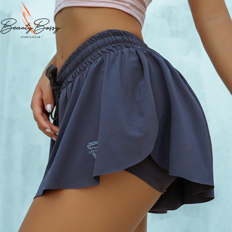 BeautyBossy 2020 Running Loose Shorts Blue