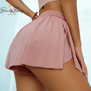 BeautyBossy 2020 Running Loose Shorts Pink