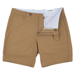 Oak St - British Khaki Lightweight Canvas Shorts