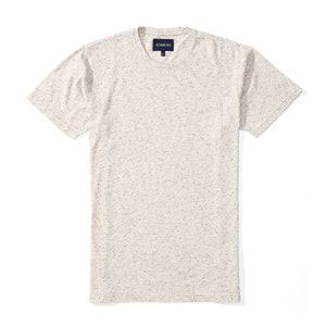 Washed Tee - Speckled Heather Gray