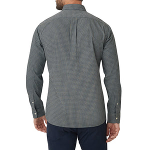 Washed Button Down Shirt - Rugby Micro Check