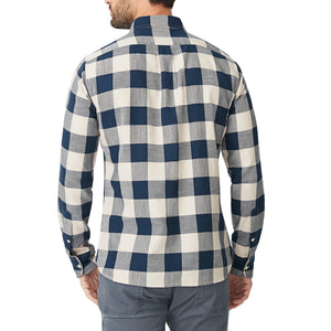 Washed Button Down Shirt - Newton Buffalo Check