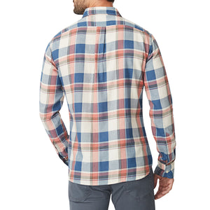 Washed Button Down Shirt - Brushed Somerset Check