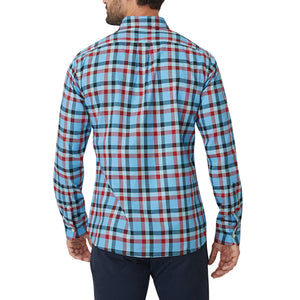Washed Button Down Shirt - Gavin Multicheck Oxford