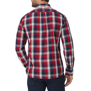 Washed Button Down Shirt - Ditmas Plaid