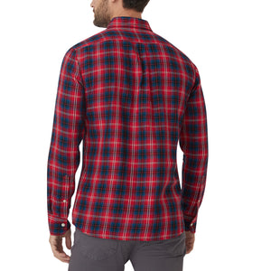 Washed Button Down Shirt - Brushed Kedzie Plaid