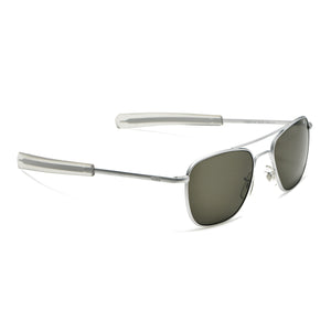 American Optical Aviators - Chrome (True Color)