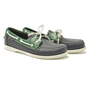 Spinnaker - Navy & Green