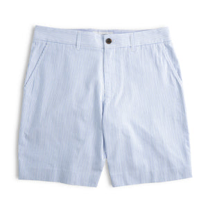 Midwoods - Light Blue Seersucker Shorts