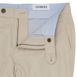 Maplehurst (Slim) - Khaki Irish Linen Cotton Chinos