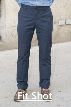 Ruskin (Standard) - Navy Enzyme Washed Chino