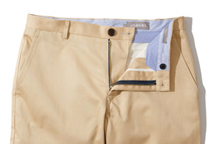 Allenby (Slim) - Khaki Uniform Twill Chino