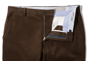 Anders (Slim) - Brown Soft Twill Chino
