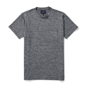 Athletic Tee - Heather Charcoal