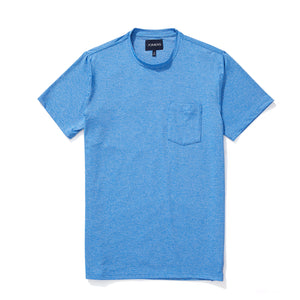 Athletic Tee - Heather Blue