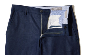 Blake (Slim) - Heavyweight Japanese Indigo Duck Chino