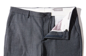 Bloomsbury - Blue Microcheck Trousers