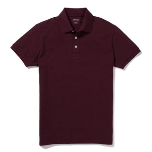 Boerum- Burgundy Pique Polo