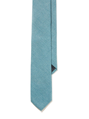 Silk Tie - Sea Green Tussah