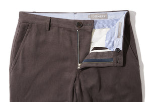 Calloway (Slim) - Gray Soft Twill Chino