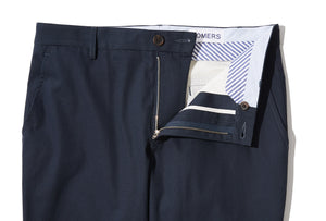 Ithaca (Slim) - Navy Micro Twill Chino