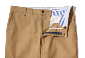 Rudyard (Slim) - English Khaki Poplin Chino