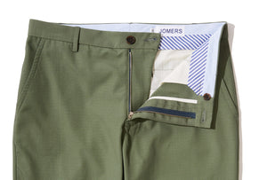 West Point (Slim) - Fatigue Ripstop Chino