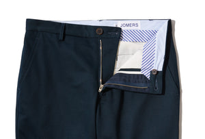 Edmunds (Slim) - Navy Japanese Twill Chino