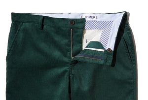 Clancy (Slim) - Hunter Green Corduroy Chino