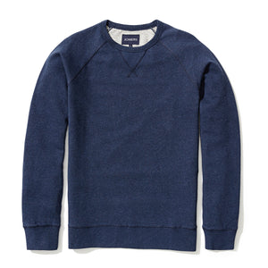 Roger - Heather Blue French Terry Sweatshirt