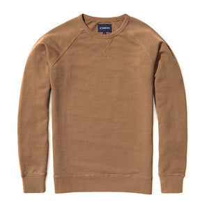 Buckley - Camel French Terry Sweatshirt