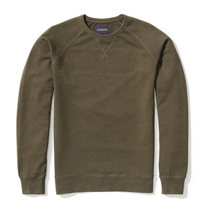 Pierce - Olive French Terry Sweatshirt