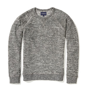 Digby - Gray Reverse Loopback French Terry Sweatshirt
