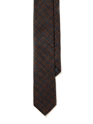 Wool Tie - Fall River Check