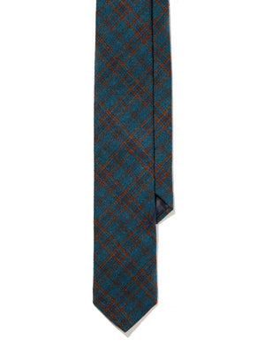 Wool Tie - Midwood Check