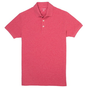 Milford - Heather Red Pique Polo