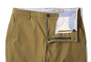 Bradley (Slim) - Army Green High Count Twill Chino