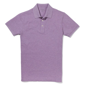 Concord - Heather Lilac Pique Polo