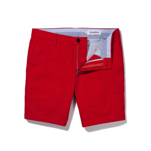 Red Japanese Canvas Shorts