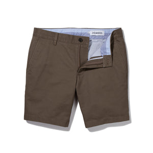Olive Summerweight Twill Shorts