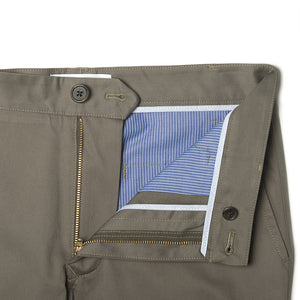 Sackett (Standard) - Olive Egyptian Pima Cotton