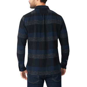 Japanese Shaggy Flannel Shirt - Wayside Check