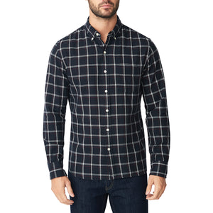 Japanese Shaggy Flannel Shirt - Piner Check