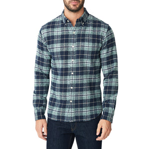 Japanese Shaggy Flannel Shirt - Hawkins Plaid