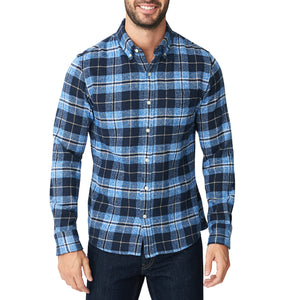 Japanese Shaggy Flannel Shirt - Milford Plaid