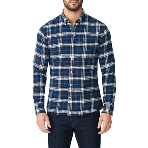 Japanese Shaggy Flannel Shirt - Brookstone Plaid
