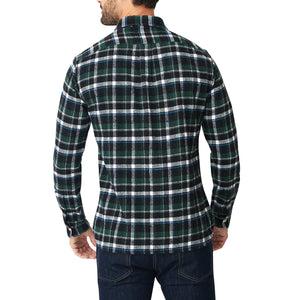 Japanese Shaggy Flannel Shirt - Shayler Plaid