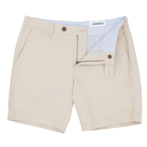 Ashby - Khaki Washed Chino Shorts